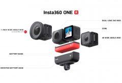 Insta360、レンズ交換可能なモジュール式アクションカメラ『Insta360 ONE R』を発売