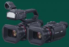 パナソニック、10bit 4K/60p内部記録対応のビデオカメラ2モデルを3月19日に発売