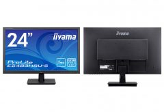 """マウスコンピューター、""""iiyama""""ブランドの24型ワイド液晶ディスプレイ『ProLite E2483HSU-5』を発売"""