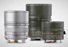 ライカ、Mレンズの新カラー1種類と特別限定モデル2種類を発表