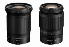 ニコン、大口径超広角単焦点レンズ『NIKKOR Z 20mm f/1.8 S』、 高倍率ズームレンズ『NIKKOR Z 24-200mm f/4-6.3 VR』を発売