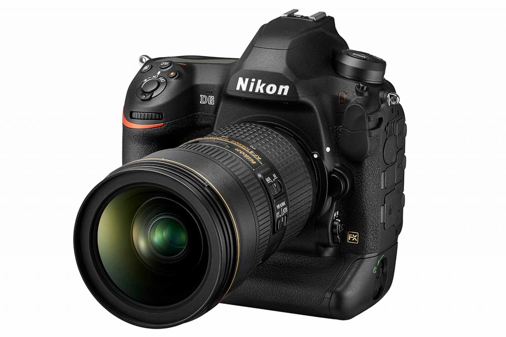 ニコン、ニコンFX フォーマットデジタル一眼レフカメラ『ニコン D6』を発表