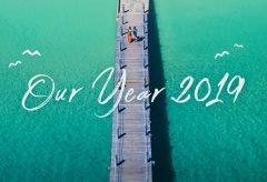 【Views】987『Our Year 2019』3分6秒〜多摩川沿いの町から出かけた1年間の夫婦旅の総集編