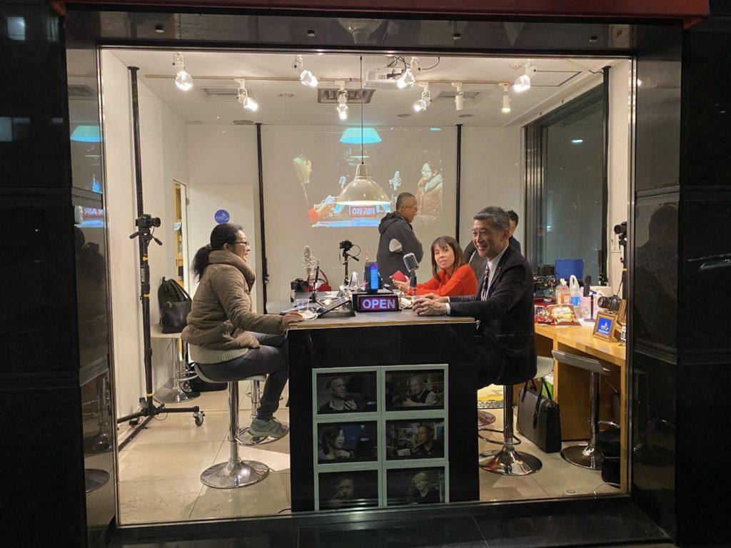 動画配信スタジオ 運営日誌 第回 見えるラジオに対応した ヒマナイヌスタジオ大手町 ビデオsalon