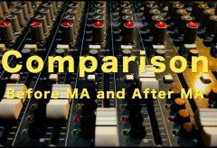 連載「動画をもう一度はじめから」音声収録について⑦MA作業の関連動画画〜MAのビフォーアフター比較