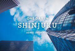 【Views】1016『One Day in Shinjuku』1分27秒~昼のビル街から夜の顔に。休むことを知らない街を追う