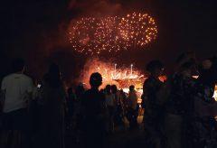 【Views】1023『あさくち花火大会』1分49秒~ドローン撮影&地上からの画も交えて花火と雰囲気を捕まえる