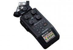 ズーム、ハンディレコーダー H6 のブラック・エディションH6/BLKを発売