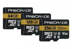 プログレードデジタル、最大転送速度250MB / 秒のmicroSDXC UHS-IIを発売