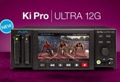 AJA社、12G-SDI 接続の4K/UltraHD または 4 チャンネル HDレコーダー兼プレーヤー Ki Pro Ultra 12Gを発表