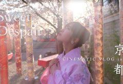 【Views】1151 『CINEMATIC VLOG KYOTO』1分45秒〜桜の季節の淡い空気の中でしっとりとしたその風貌が絶妙に溶け込んでいく