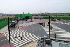 ヌーヴェルヴァーグ、足利市内にスクランブル交差点のオープンセットを開設