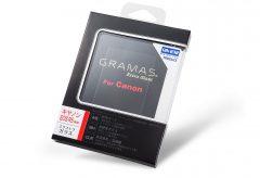 銀一、GRAMASの液晶保護ガラスCanon EOS R5用を発売