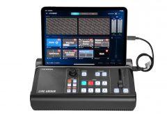 アイ・オー・データ機器、4K パススルー対応 iPad 連動型ストリーミングボックスGV LSMIXER/Iを発表