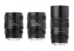 焦点工房、中一光学 CREATORシリーズの富士フイルムXマウント単焦点レンズ3種を発売