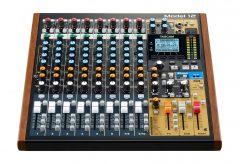 ティアック、レコーディングミキサーModel 12の最新ファームウェア V1.11を発表〜シームレスにリピートさせることが可能に