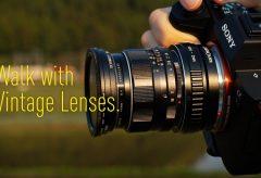 【Views】1199『オールドレンズと歩く』4分2秒〜オールドレンズを携えて古き良き風景を撮影