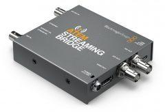 ブラックマジックデザイン、H.264ライブストリームをデコードしSDI/HDMIビデオに変換するコンバーター ATEM Streaming Bridgeを発表