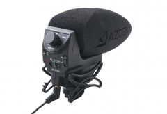 アツデン、映像と音像をマッチングできるステレオモノラルミックスマイクロホン SMX-30Vを発表