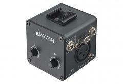 アツデン、一眼カメラ、スマートフォン向けのコンパクトマイクアダプター MC-1を発表