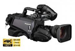 パナソニック、高感度、低ノイズで色再現性に優れた4Kスタジオカメラシステムを開発