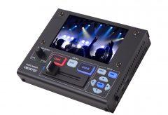 ユニデン、液晶モニターを搭載したポータブルビデオミキサー VMXR700を発売