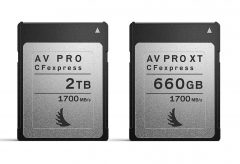 エンジェルバード CFexpress Type Bカード AV PRO CFexpressとAV PRO CFexpress XTを発売