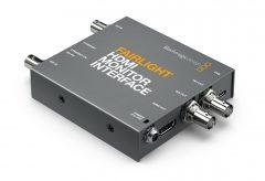 ブラックマジックデザイン、HDMIテレビやコンピューターモニターを大型のFairlightスタジオコンソールで使用可能な Fairlight HDMI Monitor Interfaceを発表