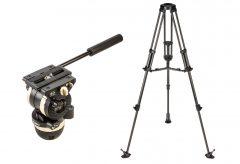リーベック、高性能軽量ビデオ三脚NXシリーズ発表。一眼でカウンターバランスが合うNX-100とシネマカメラ用のNX-300