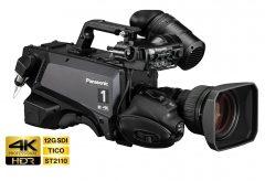 パナソニック、高感度低ノイズで色再現性に優れた4KスタジオカメラAK-UC3300/UC3300Sを発売