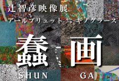 辻智彦映像展『蠢 画SHUN GA』が11月17日~22日に東京・青山のギャラリーで開催