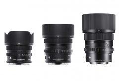 シグマ、フルサイズミラーレス一眼対応のコンパクトで高性能な単焦点レンズシリーズ「 I シリーズ」を発表