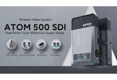 VANLINKS、VaxisのSDI/HDMI対応のワイヤレス映像伝送トランスミッ ターATOM 500SDIを発売