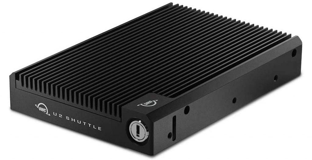 OWC、世界初3.5インチドライブに4枚のNVMe SSDを搭載できるOWC U2 Shuttleを発売