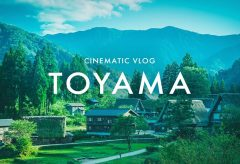 【Views】1535『Beautiful TOYAMA』2分14秒