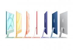 アップル、M1チップ搭載で全7色展開の新しい24インチiMacを発表