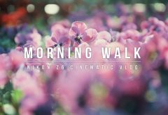 【Views】1633『Walking in the morning』2分