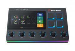 アバーメディア・テクノロジーズ、オーディオミキサー&配信者向けコントロールセンターAX310を発売