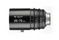 KPI、Tokinaシネマズーム25-75mmT2.9の受注を開始