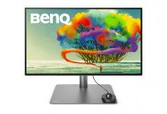 ベンキュー、4K UHD解像度VESA Display HDR400対応の27型モニター PD2725Uを発売