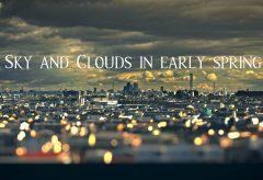 【Views】1640『屋並と雲』1分36秒