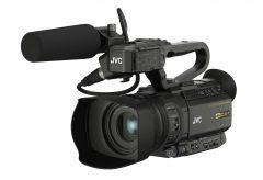 JVCケンウッド、業務用4Kメモリーカードカメラレコーダー3モデルを発売