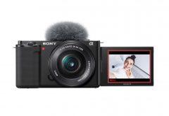 ソニー、αシリーズ初のレンズ交換式Vlogカメラ VLOGCAM ZV-E10を発表