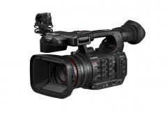 キヤノン、高画質と小型化を両立した業務用4Kビデオカメラ XF605を発表。AF・通信機能の強化や操作性を拡充