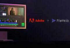 アドビ、クラウド型ビデオコラボレーションプラットフォームの「Frame.io」を買収〜映像編集プロセスを強化