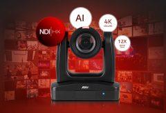 アバー・インフォメーション、NDI対応の4K自動追尾リモートカメラ PTC310UN を発売