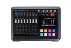 ティアック、TASCAMのポッドキャスト制作をサポートする音声コンテンツ制作ワークステーション Mixcast 4を発売