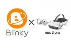アルファコード、超体感XR配信プラットフォームBlinkyが一体型VRデバイス「pico neo 3 pro」に対応