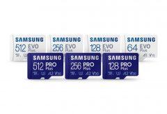 ITGマーケティング、Samsung microSDカード「PRO Plus」と「EVO Plus」を発売